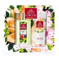 Coffret De Parfum MONT SAINT-MICHEL Coffret Eau de Cologne Fraicheur de Figue 75 ml + Lait Corps Parfume 75 ml