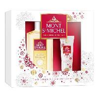 Coffret De Parfum MONT SAINT-MICHEL Coffret Eau de Cologne Instant Ensoleille 250 ml + Creme Mains 50 ml