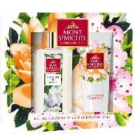 Coffret De Parfum MONT SAINT-MICHEL Coffret Eau de Cologne Jasmin 75 ml + Lait Corps Parfumé 75 ml - Mont St Michel