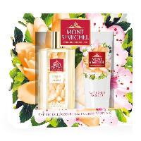 Coffret De Parfum MONT SAINT-MICHEL Coffret Eau de Cologne Pétale de Néroli 75 ml + Lait Corps Parfumé 75 ml - Mont St Michel