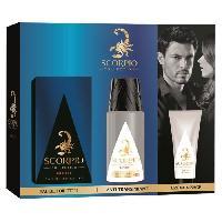 Coffret De Parfum SCORPIO Coffret Night Eau de Toilette 75 ml + Déodorant Atomiseur 150 ml + Gel Creme Visage 50 ml