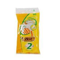Coffret De Rasage BIC Sensitive lames - 10 rasoirs jetables
