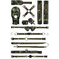 Coffret Fetish Coffret Bondage Camouflage