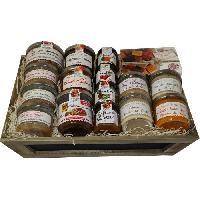 Coffret Gastronomique Les Recettes Cuites au Chaudron - Corbeille Sucre-Sale - 1500 g