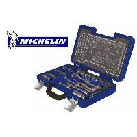 """Coffret Outillage MICHELIN Mallette douilles et embouts 40 pieces 1/4""""+ 3/8"""" - Chrome vanadium"""