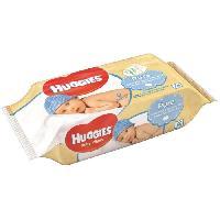 Coffret Produits Hygiene Bebe HUGGIES  Lingettes pure x56
