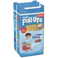 Coffret Produits Hygiene Bebe HUGGIES Pull-ups Culottes d'apprentissage Taille 6 (16-23 kg) x12 Garçon