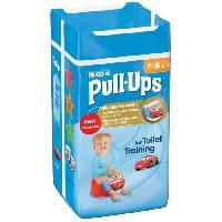Coffret Produits Hygiene Bebe Pull-Ups Boy Taille 4 8-15kg x16 couches