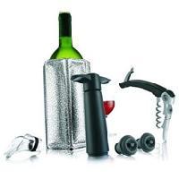Coffret Sommelier - Coffret Oenologie Coffret 'Giftset Wine Essentials' - argent