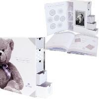 Coffret Souvenirs DOMIVA Boîte a trésors et livre de naissance Little Bear