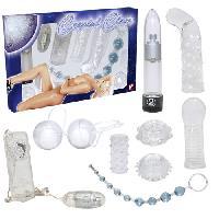Coffrets de Sextoys Ensemble 9 pieces Crystal Clear