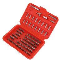 Coffrets et kit d outils Assortiment embouts 100 pieces
