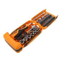 Coffrets et kit d outils Beta - Coffret 39 pieces de douilles et accessoire