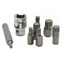 Coffrets et kit d outils Jeu de 12 embouts XZN multipans M5 a M14