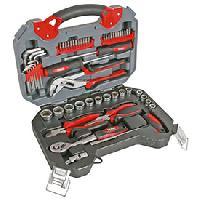 Coffrets et kit d outils Malette outils chrome vanadium 56pcs PEREL