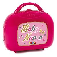Coiffeur - Estheticienne SMOBY Baby Nurse Vanity Rose + 12 Accessoires