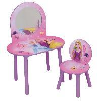 Coiffeuse Fun House Disney princesses coiffeuse avec chaise pour enfant