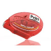Colle - Pate Adhesive PRITT Roller de colle Rechargeable Permanent - 8.4 mm x 16 m - Etui