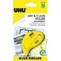 Colle - Pate Adhesive UHU Dry & Clean Glue Roller Non Permanent 8.5m x 6.5mm