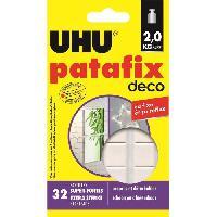Colle - Pate Adhesive UHU Patafix Deco 32 Pastilles