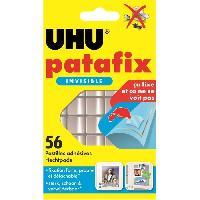 Colle - Pate Adhesive UHU Patafix Invisible 56 Pastilles