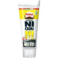 Colle - Pate De Fixation - Scellement Chimique Colle Ni clou ni vis chrono invisible Pattex - Tube 200g