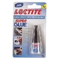 Colle - Pate De Fixation - Scellement Chimique Colle contact LOCTITE Super glue 5g