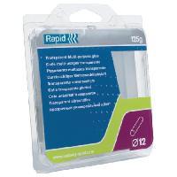 Colle - Pate De Fixation - Scellement Chimique Colle multi-usage Ø12mm Rapid Agraf Transparente 1