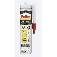 Colle - Pate De Fixation - Scellement Chimique PATTEX 100% Colle et Joint Cartouche 290gr