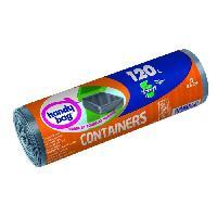 Collecte Des Dechets Rouleau de 5 sacs protege-containers - 120 L - 90 x 125 cm
