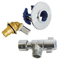 Collier - Bride - Fixation SOMATHERM Raccord Robinet wc - pour tube PER - Ø 12 - Raccord a sertir PER