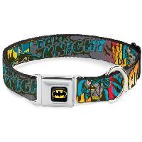 Collier Collier Chien DC Comics- Batman Dark Knight - L - Aucune