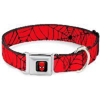 Collier Collier Chien Marvel- Toile Spider-Man - L - Aucune
