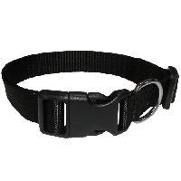 Collier Collier en nylon Eco Coneck'T - Taille - L - Noir - Pour chien