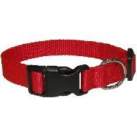Collier Collier en nylon Eco Coneck'T - Taille - L - Rouge - Pour chien