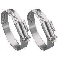 Collier De Serrage - Circlip 2 Colliers metalliques 9mm de 25 a 40mm