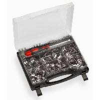 Collier De Serrage - Circlip MEISTER Jeu de colliers de serrage 50 pieces