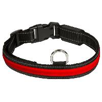 Collier EYENIMAL RGB Collier lumineux - Taille M - Pour chien