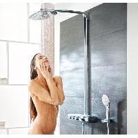 Colonne De Douche - Barre De Douche GROHE Colonne de douche avec mitigeur thermostatique Rainshower SmartControl 360 DUO 26250000