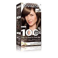 Coloration - Decoloration - Accessoire De Pose GARNIER Coloration permanente 100 Ultra brun - Chatain clair sensation