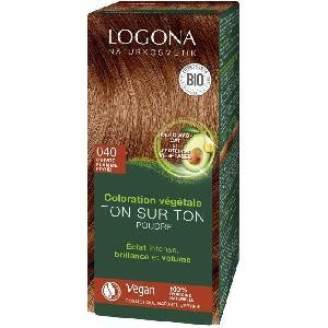 Coloration - Decoloration - Accessoire De Pose LOGONA Soin colorant 040 Cuivre flamme froid - 100 g Aucune