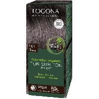 Coloration - Decoloration - Accessoire De Pose LOGONA Soin colorant 101 Noir intense - 100 g Aucune