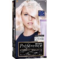 Coloration - Decoloration - Accessoire De Pose L'OREAL PARIS Coloration Permanente Préférence 11.21 - Blond glacé tres clair