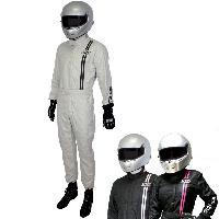 Combinaison Combinaison Race FIA Silver Noir Taille 60