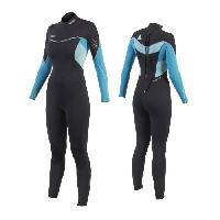 Combinaison De Surf - Wakeboard - Kite - Bodyboard - Windsurf JOBE Combinaison 3/2 Sofia - Femme - Bleu - XL