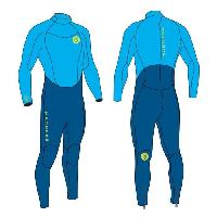 Combinaison De Surf - Wakeboard - Kite - Bodyboard - Windsurf MADNESS Combinaison néoprene évolution 4/3 - garçon - bleu - 10 ans