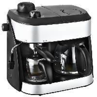 Combine Cafetiere-expresso TKG EXP 1001C Combine expresso cafetiere - Noir