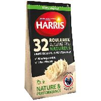 Combustible HARRIS 32 rouleaux allume-feu naturels - Nature et performance