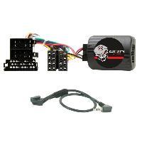 Commande au volant Clarion Interface Commande au volant AD1Clarion compatible avec Audi ISO sans ampli