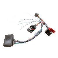 Commande au volant Clarion Interface Commande au volant AD8C compatible avec Audi ap01 Mini-ISO Ampli bose Clarion